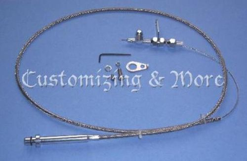 GM Flexibeles TH 350 Kickdown Kabel Kit